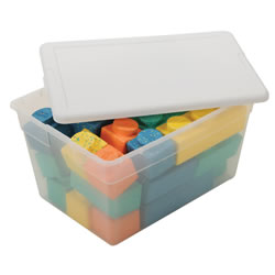 56 Quart Clear Storage Box