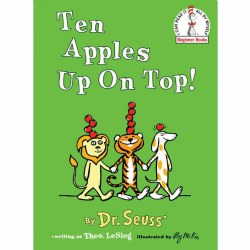 Ten Apples Up On Top (Hardcover)