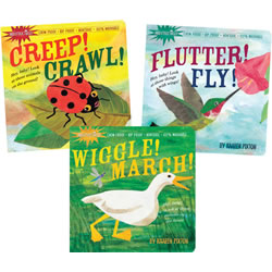 Indestructible Wordless Picture Books (Set of 3)