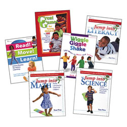 Nutrition & Fitness Resource Books (set of 6)