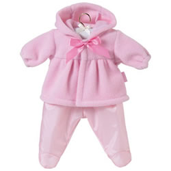 Mon Premier Pink Fleece Set 12 Inch