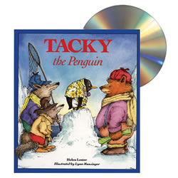 Tacky the Penguin - CD and Paperback