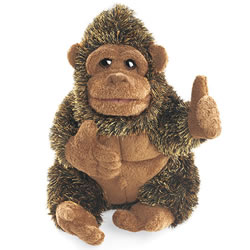 Small Gorilla Hand Puppet by Folkmanis
