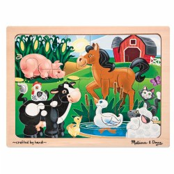 On the Farm Jigsaw Puzzle by Melissa & Doug