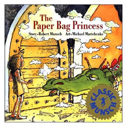 The Paper Bag Princess - Paperback