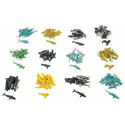 Sea Animals - 144 piece set