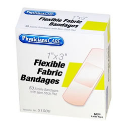 "1"" x 3"" Fabric Bandages"