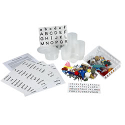 Hands-On Alphabet Set