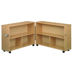 Eco Preschool Bi-Fold Shelf