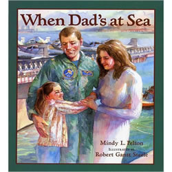When Dad's at Sea - Paperback