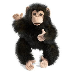 Baby Chimp Hand Puppet by Folkmanis
