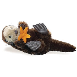 Sea Otter Hand Puppet by Folkmanis