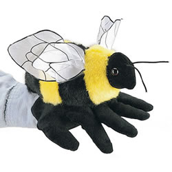 Bee Hand Puppet by Folkmanis