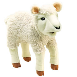 Lamb Hand Puppet by Folkmanis