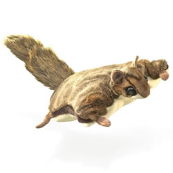 Flying Squirrel Hand Puppet by Folkmanis