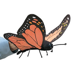 Butterfly Hand Puppet by Folkmanis