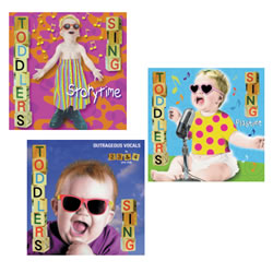 Toddler's Sing Set (Set of 3 CDs)