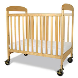 Serenity Compact Fixed-Side Clearview Crib