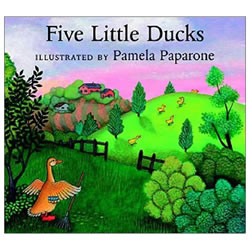 Five Little Ducks - Board Book