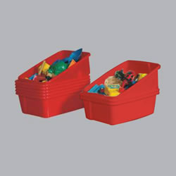 Red Tote Tray (Each)