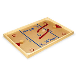Nok-Hockey Deluxe Game