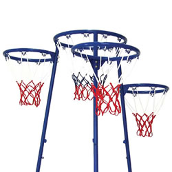 Set of 4 Ring Basketball Replacement Nets