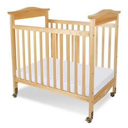 Biltmore™ Compact Fixed Side Clearview Crib - Natural