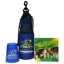 Speed Stacks Set with DVD - Cool Blue