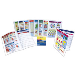 Math Visual Learning Guides Set (Grade 2)