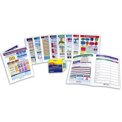 Math Visual Learning Guides Set (Grade 3)