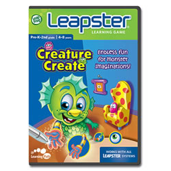 Leapster2 Learning Game Creature Create
