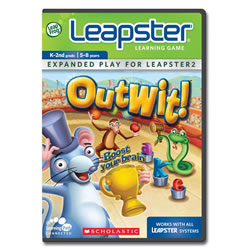 Leapster2 Learning Game Scholastic Outwit
