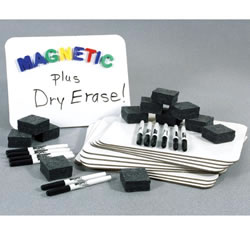 Classroom Magnetic Dry Erase Board Set
