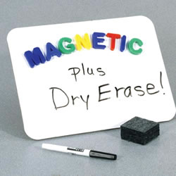 Single Magnetic Dry Erase Board Set