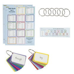 Sight Words in a Flash Set 2