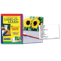 Lang-O-Learn Multilingual Photo Cards: 50 Card Everyday Set