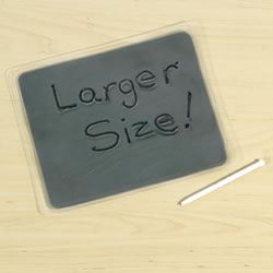 "Large Gel Writing Boards 8 1/2"" x 7"" (Set of 6)"