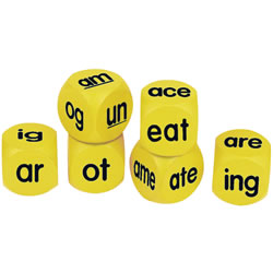 Word Family Phonics Cubes