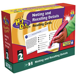 Noting & Recalling Details Hot Dots®
