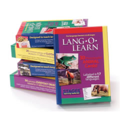Lang-O-Learn Multilingual Photo Cards: 30 Card Animal Set