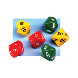 Place Value Jumbo Dice