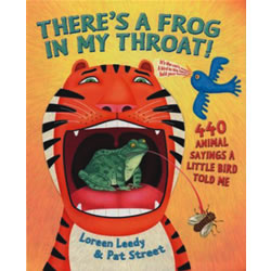 There's A Frog in My Throat - Paperback