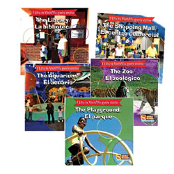 I Like to Visit ...  Bilingual Book Set (Set of 5)