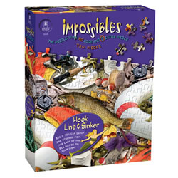 Impossible Puzzle - Hook, Line and Sinker (750 Pieces)