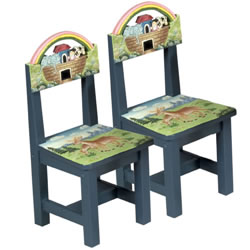 Noah's Ark Chairs (Set of 2)