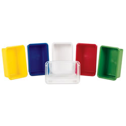 Vibrant Color Storage Tray (Set of 5)