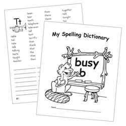 My Spelling Dictionary (Set of 10)