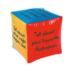 Comprehension Cubes For Informational Text