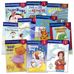 Step Into Reading - Step 1 Kindergarten (Set of 10)