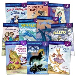 Step Into Reading - Step 3 Grades 1 - 3 (Set of 10)